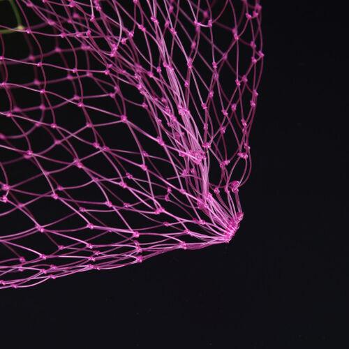 Angeln Werkzeuge Nylon Net Mesh Loch Tiefe Falten Kescher 3 Größen TPI