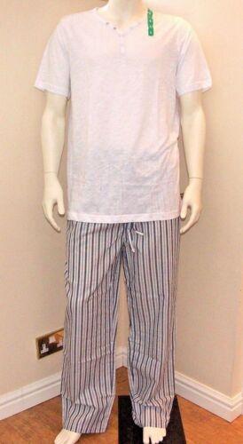Kenneth Cole Da Uomo le reazioni 2 Pezzi Abbigliamento Set Henley e pantalone NUOVO CON ETICHETTA