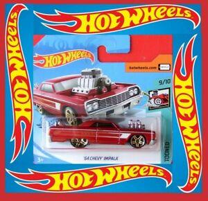 Hot-Wheels-2020-039-64-Chevy-Impala-58-250-neu-amp-ovp-color-nuevo