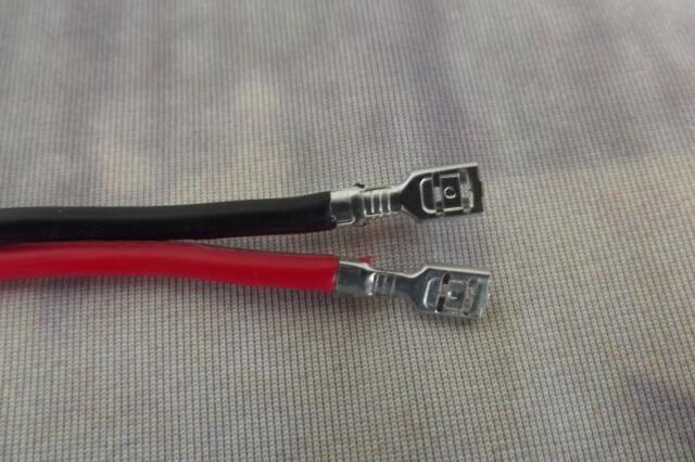 16 GA Speaker Wire 21 Inch Premade Leads Plug Connectors Pair | eBay
