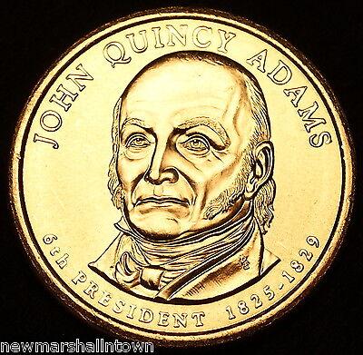 ADAMS UNCIRCULATED PRESIDENTIAL DOLLAR  #6P 2008 P PRESIDENT JOHN Q