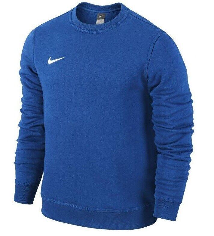 Concurso Racionalización Desgastado  Men's New Nike Crew Swoosh Logo Sweatshirt Jumper Pullover Cotton Sweater -  Blue for sale