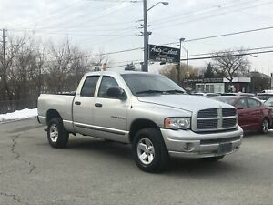 2002 Dodge Ram 1500 4x4 ONLY 232K! **V8 PRICED TO SELL**