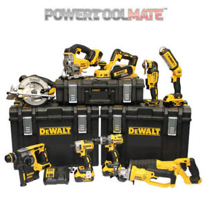 Dewalt-DCKPTM10P4-18V-4-x-5-0Ah-XR-Li-Ion-10-Piece-ToughSystem-Kit-Brushless-SDS