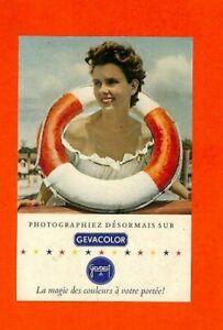 GEVAERT / PHOTOS GEVACOLOR / IMAGE / JOLIE JEUNE FEMME / PUBLICITE ADVERTISING