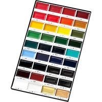 Watercolour Paints Gansai Tambi Japanese For Oriental Enthusiast 36 Colour Set