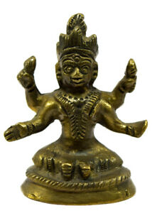 Vecchio Ottone Tara Statua di Buddha Moglie Bello Figura Decorative. G53-114 US