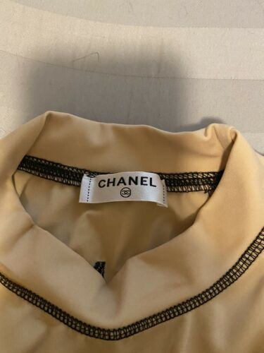 vintage chanel authentic used r shirt