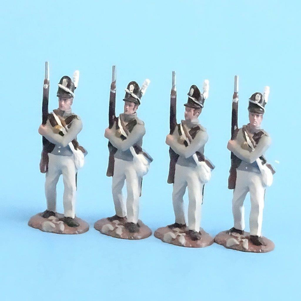CORD-A0143 - Scotts Brigade Port Arms (4 Pieces) - War of 1812
