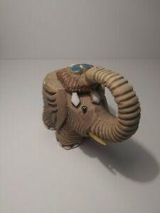 Vintage Hand Craved Artesania Rinconada Elephant. Made In Uruguay