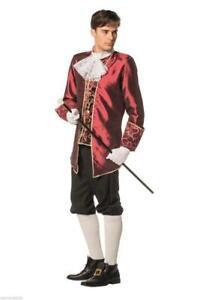 Rokoko Marquis Kostüm Barock Mittelalter Herren Baron Lord Prinz Rokokokostüm