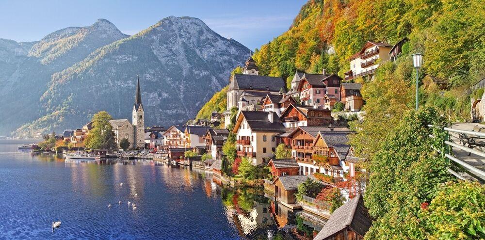 4000 pcs Puzzle Hallstatt, Autriche (Art) Castorland C-400041