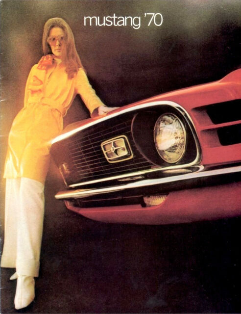 Classic Ford Mustang Sales Brochures 1970 Reproduction Vintage dealer literature