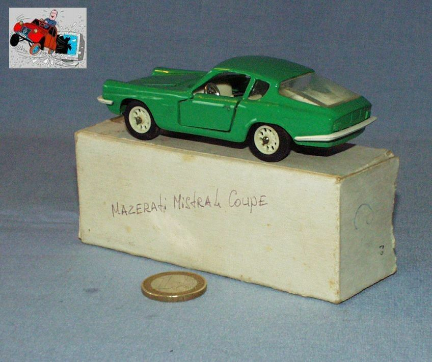 EX MEBETOYS ref A10 made in USSR : MASERATI 3500 MISTRAL COUPE  2