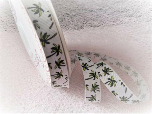 5 designs /& 4 lengths Bertie/'s Bows TOTALLY TROPICAL Grosgrain Ribbon 16mm