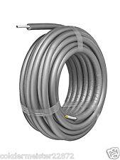 Fränkische Alpex F50 Profi 26x3mm vorgedämmt 9mm weiss im Ring je 25m Rohr
