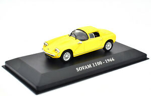 Sovam-1100-Year-1966-Yellow-IN-1-43-From-IXO