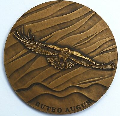 Médaille Huysbrecht Animal Documentation & Protection Augur Buzzar Belgium Medal Kwaliteit En Kwantiteit Verzekerd