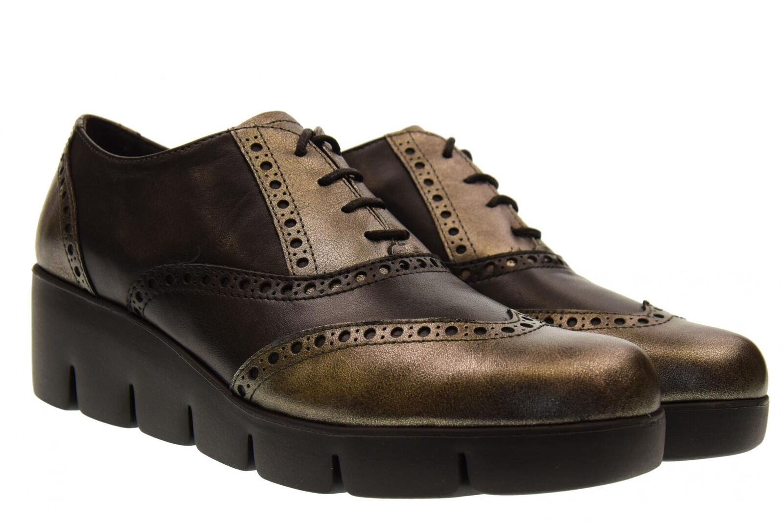 The Flexx scarpe donna classiche con zeppa B254 13 NEW TRALLS A18