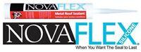 Novaflex Metal Roof Sealant 15 Colors Available (6 Tubes)