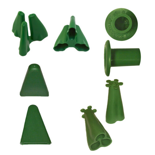 Rubber Bamboo Cane Cap Stake Toppers Plant Support Protection
