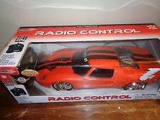 Orange Ford GT Remote Radio Control Car with Batteries Full Function Brand New