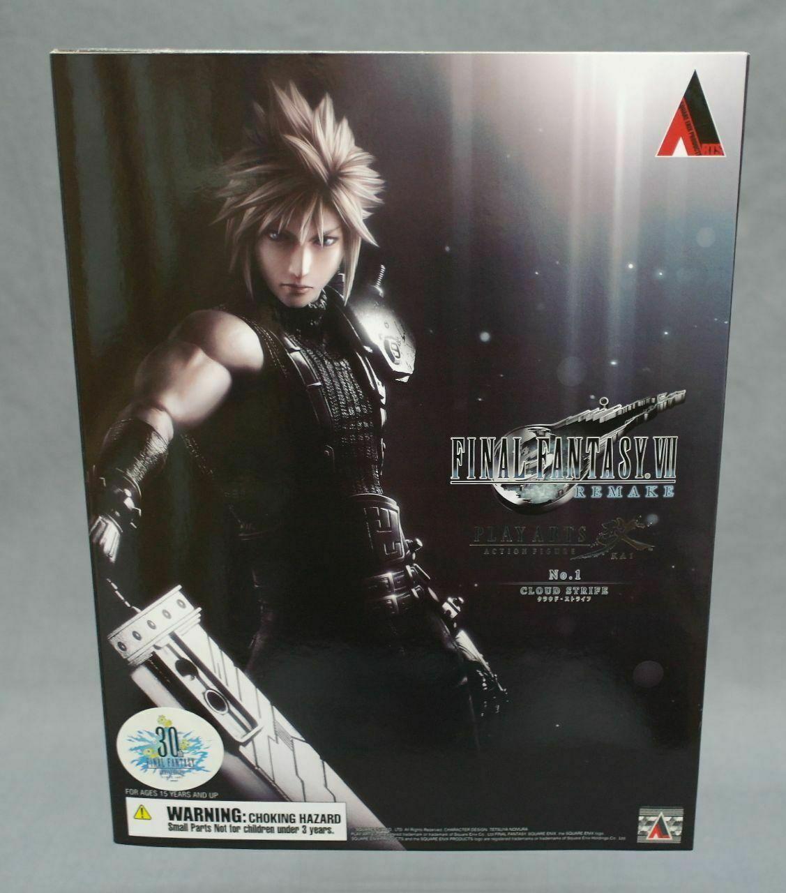 directo de fábrica Jugar Arts Kai Kai Kai Final Fantasy VII Remake No.1 Cloud Strife Square Enix Japan NEW  marca de lujo