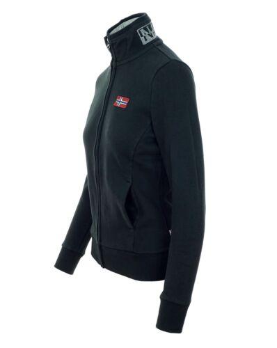 NAPAPIJRI BABIR Damen Women Sweatshirt Pullover Logo Blu Marine XS,S,M,L,XL