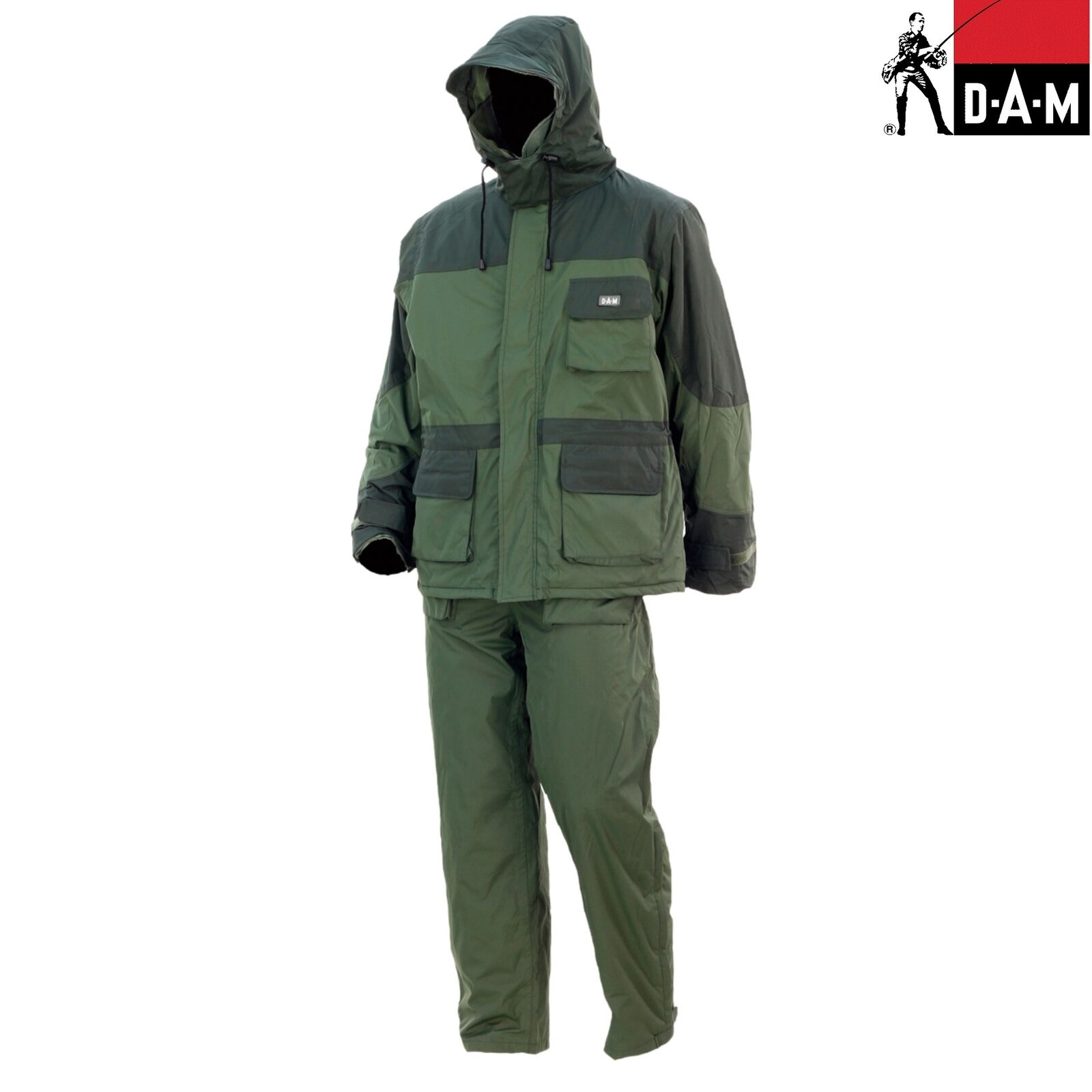 DAM DuraTherm ThermoSuit   Green   100% Waterproof   100% Polyester Microfibre