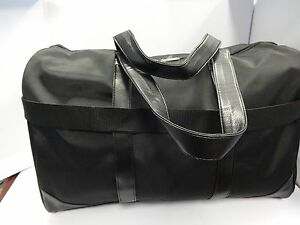 Giorgio Armani ~DUFFLE ~ GYM ~ Travel Large Bag New for Men Black ... 74db9cc57a