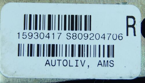 15930417 DAMAGED: scratched, scuffed 2004-2009 Cadillac XLR Right Seat Belt