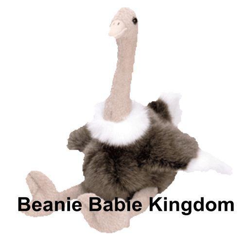 Ty Beanie Buddy  STRETCH   The Ostrich 17  Tall