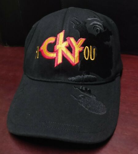 Rare 2004 CKY hat Bio-domes Stretch Fit Bam Marger