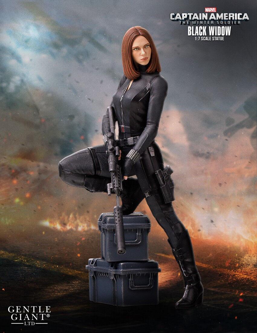 Capitán América 2: el Soldado del Invierno-viuda Negra 22.5cm (9) 1:8 Escala Estatua