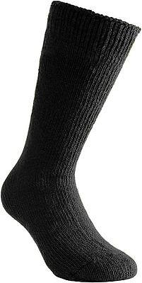 Pure Lambswool Black Merino Wool Woolen Socks Builder Motorist Climbing Camping