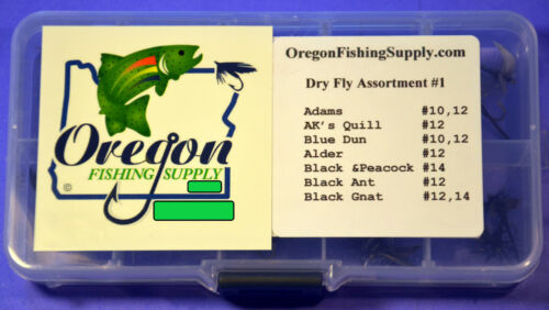 Free Shipping Details about  /Kit #1,Trout Premium Dry Fly Assortment #1.Twenty Dry Flies total