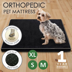 Memory-Foam-Dog-Bed-Pet-Beds-Mat-Cat-Pad-Orthopedic-Cushion-Mattress