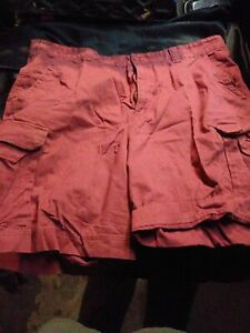 Mens Urban Pipeline Plaid Cargo Shorts MSRP $44-NWT Size 34 Classic Length