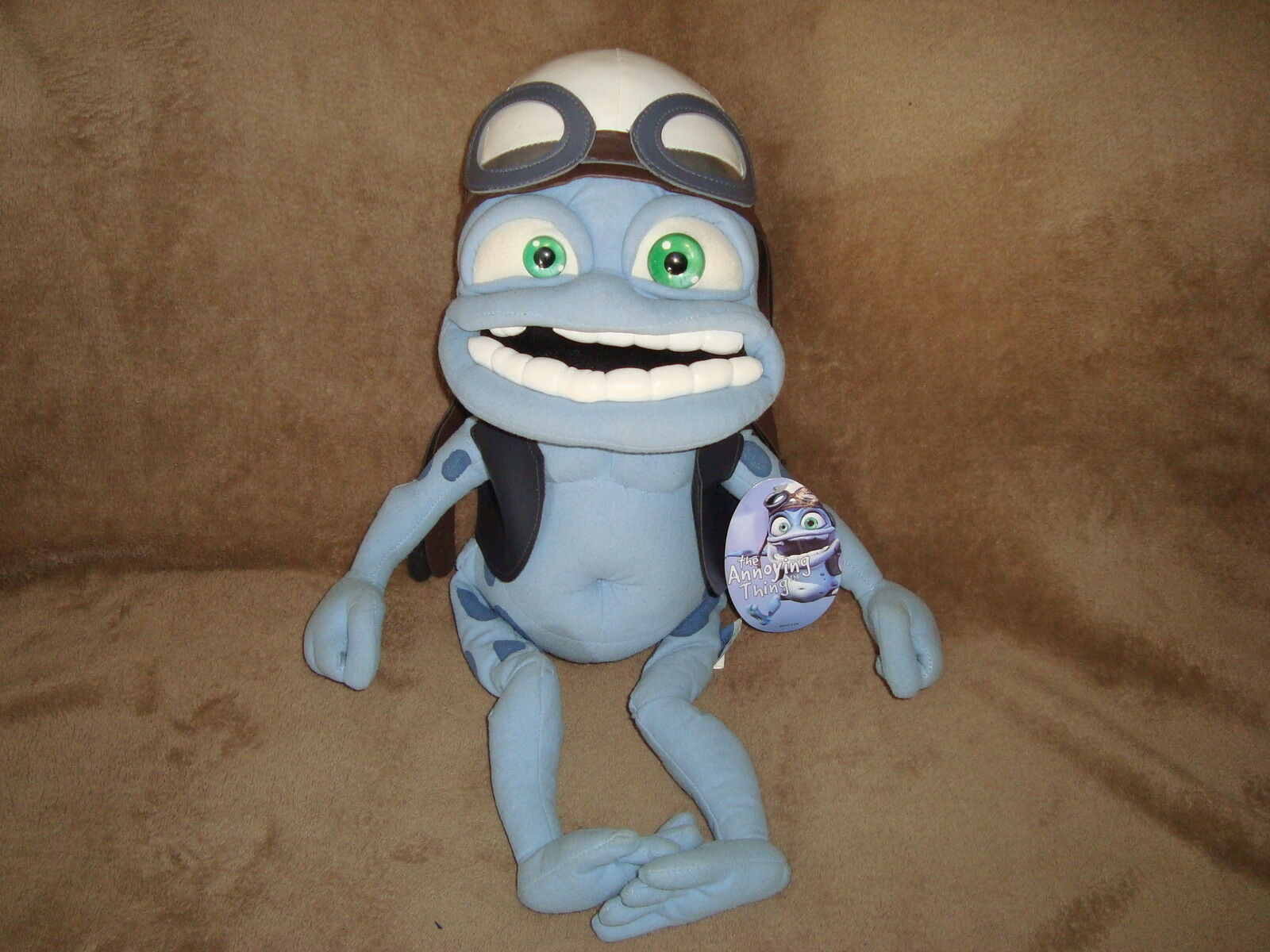 Crazy Frog the Annoying Thing Biker 20  Plush 2006 Classic Toy Co. W Tags