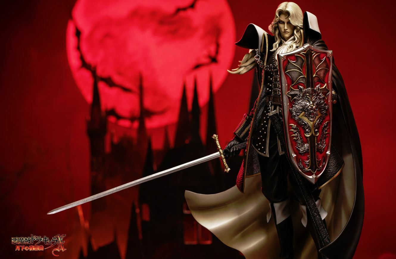Castlevania Symphony of the Night Aluautod Statue cifra cifra cifra 1 5 Scale Resin ABS PU 3c514e