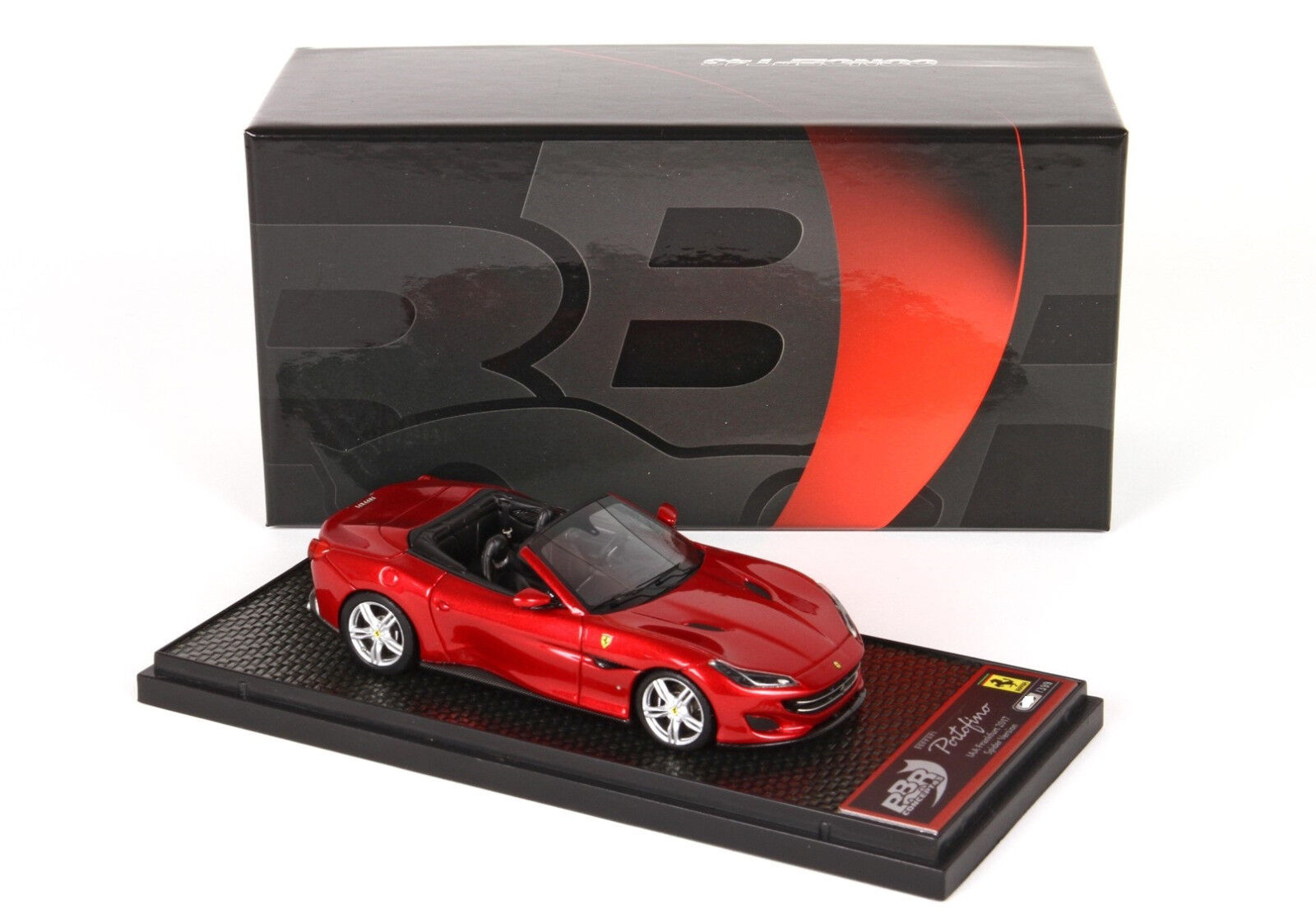 Ferrari Portofino Open 1 43 Rosso Portofino lim.ed. 399 pcs BBRC207A BBR Models