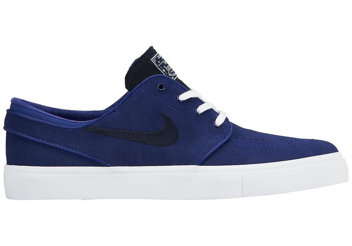 Nike SB Janoski Deep Navy Blue/Dark Obsidian/White - Size 8 NWT 333824-442