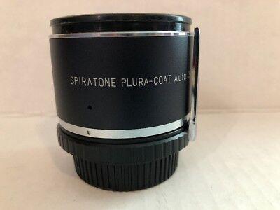 3X teleconverter extender lens for Miranda  SLR cameras by Spiratone