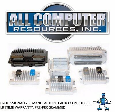 2001 2002 2003 2004 2005 GMC Yukon ECU PCM ECM Engine Computer PROGRAMMED REMAN