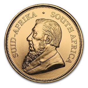 CH-GEM-BU-1-4-oz-Gold-South-African-Krugerrand-Coin-Random-Date