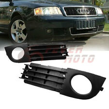 For AUDI A6 C5 2002 2003 2004 2005 Front Lower Fog Light Side Grille FM