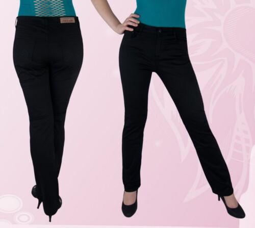 Femmes pantalons d/'été pantalon normal assis noir 38