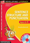 Sentence Structure and Punctuation - Ages 4-5: 100% New Developing Literacy: Foundation Year by Christine Moorcroft (Mixed media product, 2008)