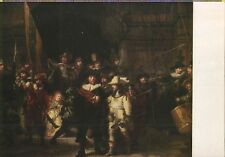 Alte Kunstpostkarte - Rembrandt - Die Nachtwache - Rijksmuseum Amsterdam