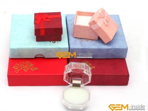 25x23mm Faceted Black Agate grès Bagues Gemme Bijoux Pour Homme Femme Cadeau